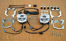 HONDA GOLDWING GL1800-F6B Tridium LED Fog Light Kit (52-916A) See fitment.