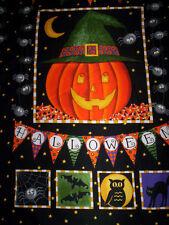 SALE !! 1 panel PUMPKIN PARTY Deb Strain Moda Fabrics pumpkin Happy halloween
