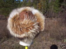 NEW Coyote Cossack Style Fur Hat  ;mountainman,USA