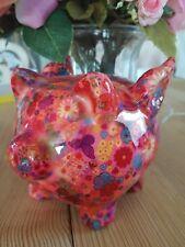 Porzellan Schwein mit Flügeln Sparschwein  Pop Art Kunst NEU