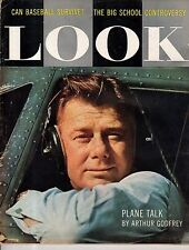 1957 LOOK June 11-Frank Sinatra Life Story; Cagney plays Chaney; Tyler TX school