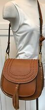 Chloe Hudson Medium Caramel Leather Bag New With Tags
