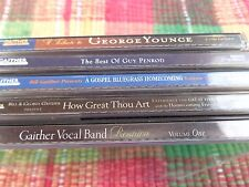 5 Gaither Gospel Series Music CDs Used All Play Great Cases Worn Free Shipping