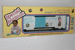 K-line #K-6428 IT'S A BOY BOXCAR