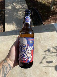 Iron Maiden Trooper IPA Empty Beer Bottle Aces High Bottle Cap