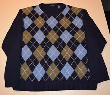 Men's Sized 2XL XXL Pre-Owned Grant Thomas Sweater In Excellent Condition