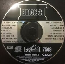 Sound Choice Foundation Brick 3 Karaoke Disc 7549 CD+G Rare Out Of Print USED