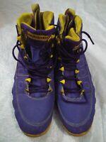 Nike Air Jordan Chris Bailey LeBron James Basketball Shoes Size 12 Purple #23