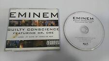 EMINEM GUILTY CONSCIENCE FEAT DR. DRE MAXI SINGLE CD 4 TRACKS EU EDITION RARE