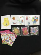 SHOPKINS NECKLACE FASHION TAGS And Stickers From Blind Bags Comes As Pictured