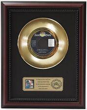 "JAMES BROWN LIVING IN AMERICA GOLD RECORD CUSTOM FRAMED CHERRYWOOD DISPLAY ""K1"""