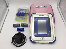 Vtech Innotab with Three Games, Case, AC Adaptor, Booklet and Cables