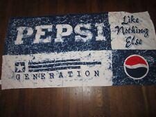 Retro Pepsi Cola Soda Pop Beach Towel Pepsi Generation Like Nothing Else