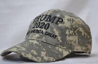 Keep America Great-Donald Trump 2020 Hat Election 45th President  MossyOak Camo