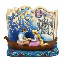 Jim Shore Magical Night - Rapunzel Story Book Figurine 4043625 Disney Traditions