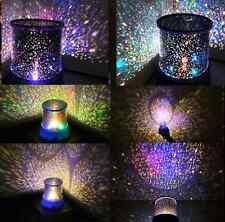Lamp LED Romantic Starry Night Gift Sky Projector Kids Star light Cosmos Master