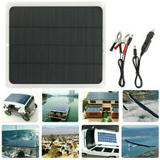Solar Panel 12v Trickle Charge Battery Charger Maintainer Marine Rv Car T It
