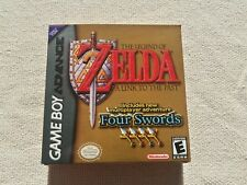 GBA Zelda Four Swords Custom Art case only no game included