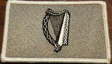 IRELAND Flag Patch W/ VELCRO Brand Fastener Tactical Morale IRISH Version #12