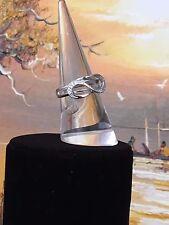 Sterling Silver Infinity Ring - Birthday Gift - Wedding Gift