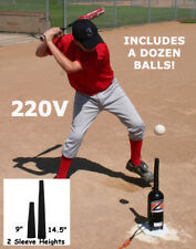 220V Hit Zone Baseball - Softball Air Tee! Model Hz-1B - Ball Floats In Mid Air!