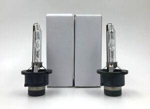 2x New OEM Xenon HID Headlight Philips D2S Bulb for 11-14 Infiniti QX 56 QX 80
