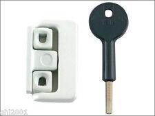 4 Yale Window Locks - V-8K101-4-WE - White - can replace chubb v-8k101 series