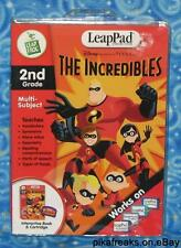 New LeapFrog LeapPad Educational Disney The Incredibles MISP USA SELLER