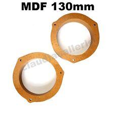 Lautsprecher Adapterringe MDF 165mm für Chevrolet Daewoo Lanos Heck