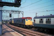 PHOTO  CLASS 25 DIESEL 25037 & 25195 BACKING ONTO THEIR TRAIN AT WOLVERHAMPTON O