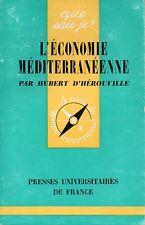 Que sais-je ? - L'économie méditerranéenne
