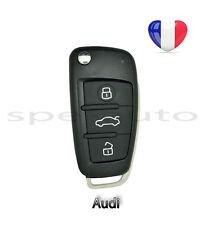 plip coque clé Audi A3 A4 A6 S3 S4 S6 TT Q7 + lame vierge