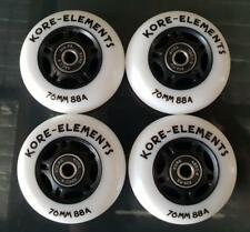 4 x RIPSTIK RIPSTICK SKATE SURFER 76mm 88a REPLACEMENT WHEELS + ABEC 9 BEARINGS