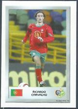 PANINI FIFA WORLD CUP-GERMANY 2006- MINI SERIES- #062-PORTUGAL-RICARDO CARVALHO