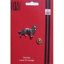 Pastore tedesco cane PELTRO bavero pin badge alsaziano KENNEL CLUB regalo di compleanno