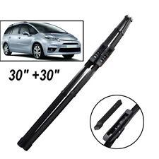 "30""30"" Front Windscreen Wiper Blades Fit For Citroen C4 Grand Picasso/C4 Picasso"