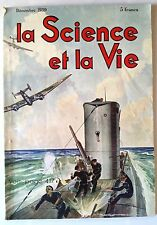 Science et vie n°270 du 12/1939; LA modulation en fréquence/ Guerre sous marine