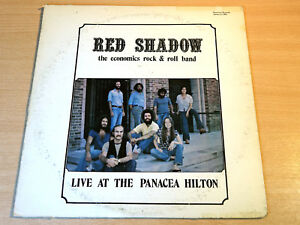 Red Shadow/Live At The Panacea Hilton/1975 Physical Records LP/Private Pressing