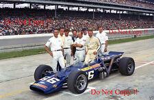 Mark Donohue Sunoco Simoniz Lola Offenhauser Indianapolis 500 1969 fotografía 3