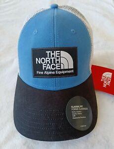 NewThe North Face Mudder Trucker Hat One Size Blue/White/Black