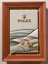 Original Rolex Dekorations-Display.