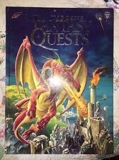 The Usborne Book of Fantasy Quests by Andy Dixon 2004 Hardcover $24.95