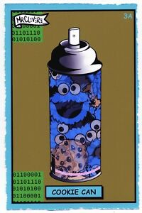 MR CLEVER ART COOKIE CAN 3A STREET ART PRINT contemporary crypto urban pop art