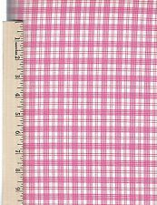 ROSEWATER SUMMER PLAID FREE SPIRIT  100% Cotton Fabric priced by the 1/2 yard