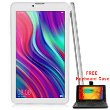 """UNLOCKED 4G SmartPhone 7"""" Android 9.0 Tablet PC AT&T / T-Mobile w/ Free Keyboard"""