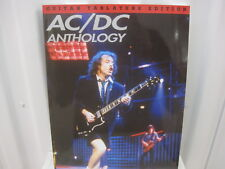AC/DC Anthology Sheet Music Song Book Songbook Guitar Tab Tablature