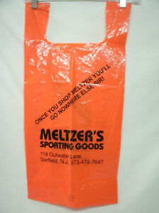 MELTZER'S SPORTING GOODS--Bag--Garfield NJ--Retired