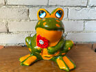 Vintage Piggy Bank, Frog Piggy Bank, Coin Bank, Made in Italy