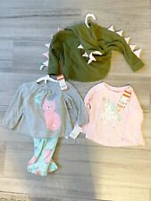 Baby Girls Clothing Lot NWT Sz 18 Months Pjs Hoodie Tee Shirts Unicorn Sweater