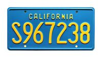 The A-Team | Mr T's GMC Van | S967238 | Metal Stamped Replica Prop License Plate
